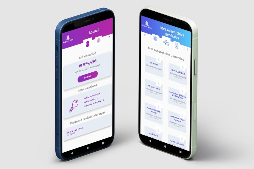 VILOGI lance VILOGI & Me, l'application mobile qui réinvente les relations pro / particuliers dans la gestion
