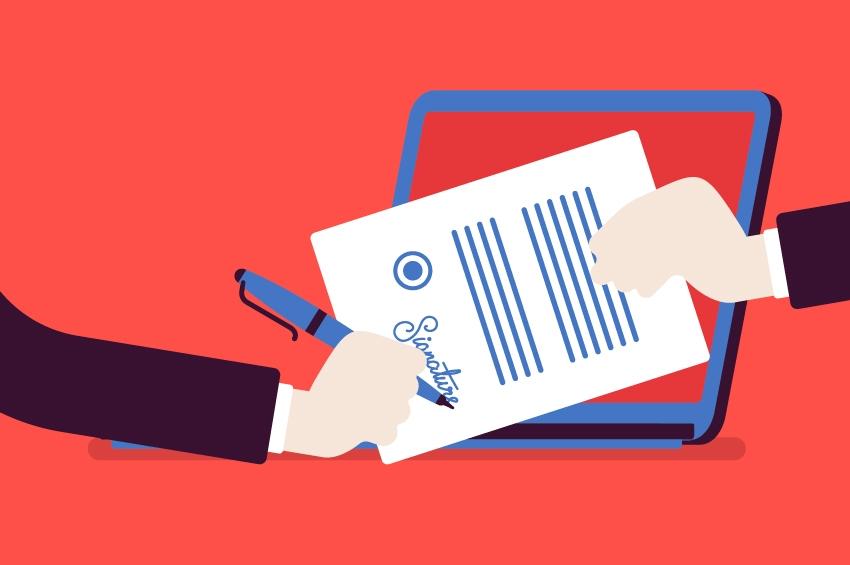 Signature électronique simple VS Signature électronique avancée, comment les distinguer ?