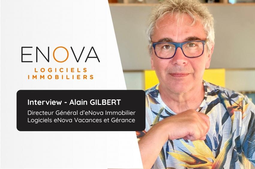 ENOVA Vacances et Gérance, Alain Gilbert nous présente son offre «Full Web» !