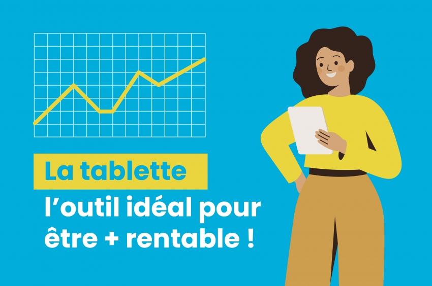 La tablette, l'outil idéal pour digitaliser ses contrats immobiliers et réaliser ses états des lieux numériques