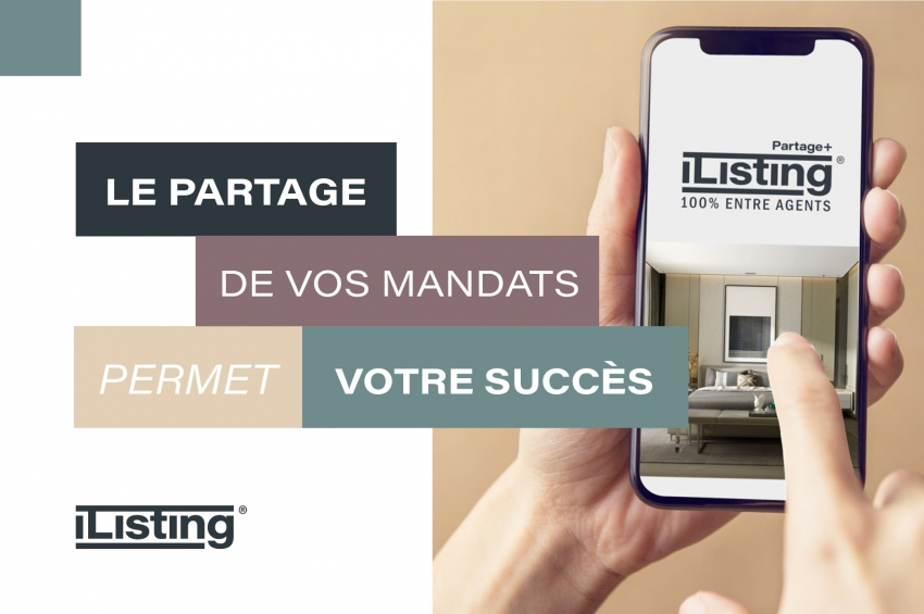 iListing : LA solution pour tous les professionnels de l'immobilier bientôt disponible