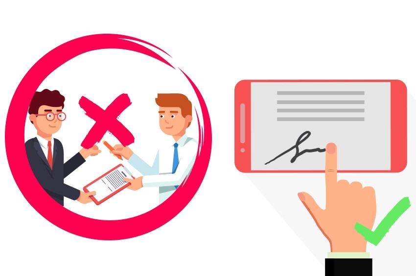 Préconisations UNIS / FNAIM, la Signature électronique s'impose !