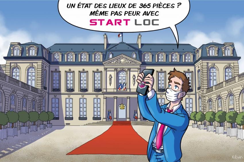 État des lieux, Startloc vous offre un peu d'humour et 5 supports !